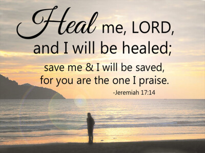 Heal Me Lord... You Are the One I Praise (Co-Rectors