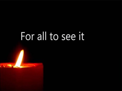 God Will Light Your Candle
